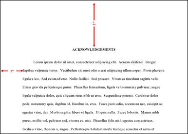 How to write acknowledgements in dissertation