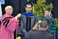 Hooding Ceremony photographer