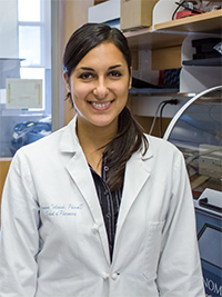 Jasmine Talameh, Pharmaceutical Sciences, received a 2013 Impact Award for her project titled Genetic and Pharmacogenetic Associations with Heart Failure Patient Survival.